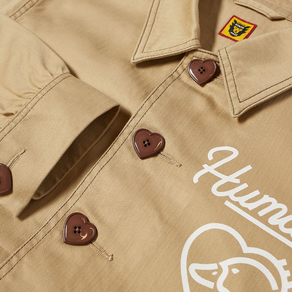 Human Made Coverall Jacket - Beige
