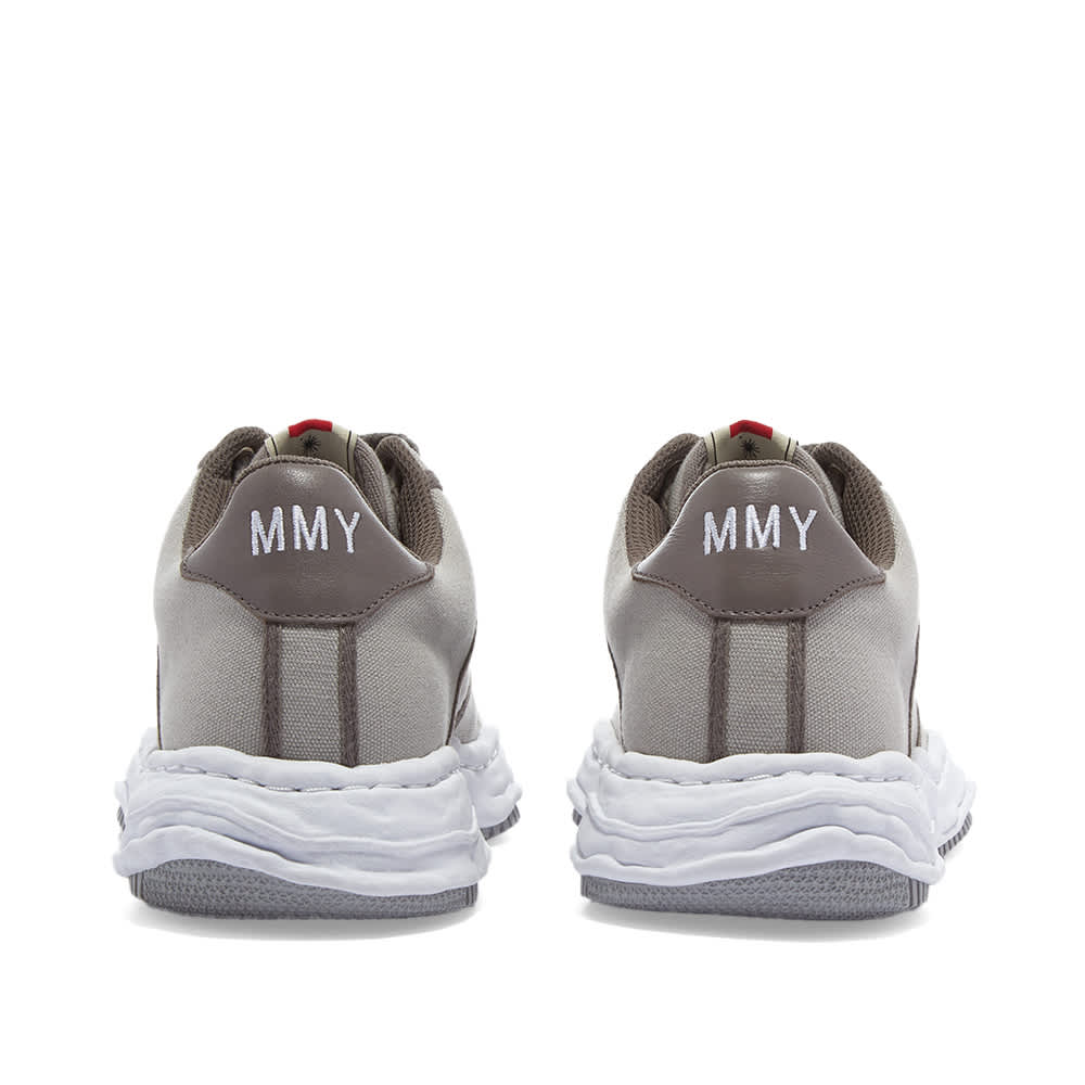 Maison MIHARA YASUHIRO Wayne Original Low Top Canvas Sneaker - Grey