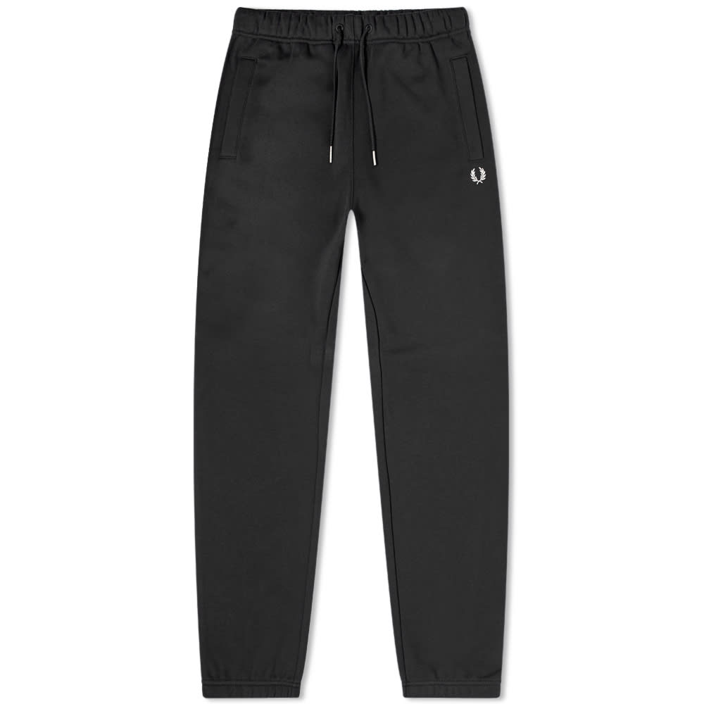 Fred Perry Loopback Sweat Pant - Black