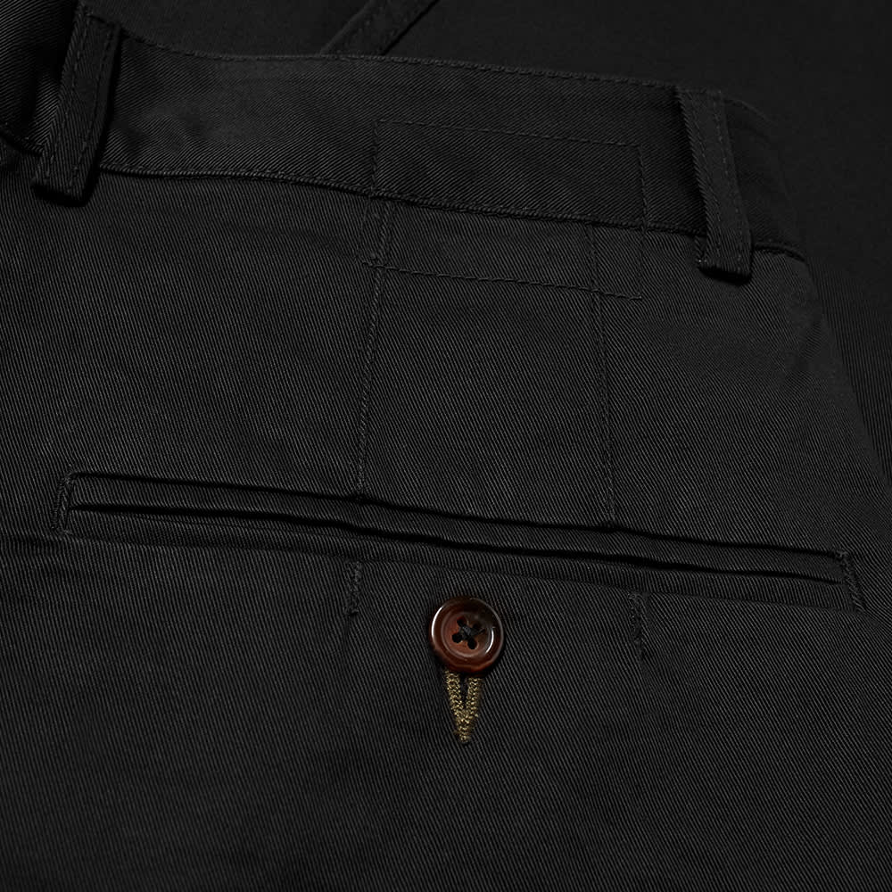 Universal Works Double Pleat Pant - Black