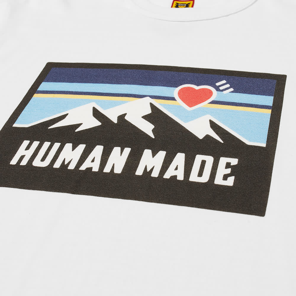 Human Made Mountain Tee - White