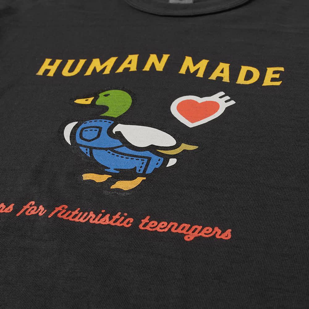 Human Made Duck Logo Tee - Black