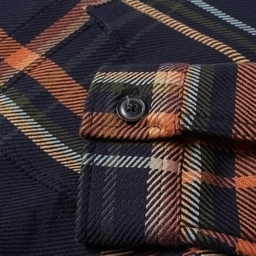 NN07 Bernard Check Shirt Jacket - Navy Check