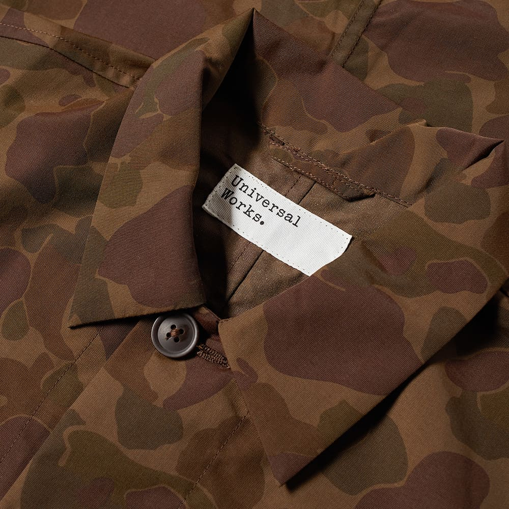 Universal Works Travail Camo Shirt Jacket - Olive