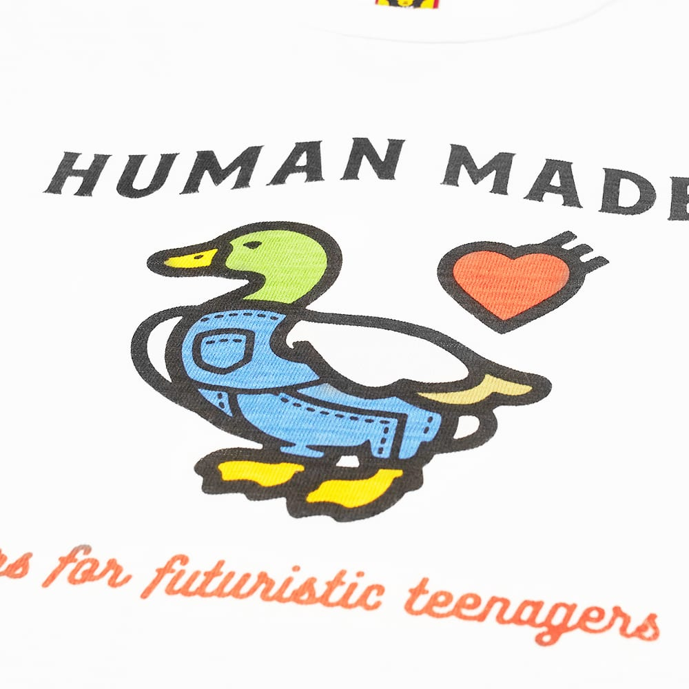 Human Made Duck Overalls Tee - White