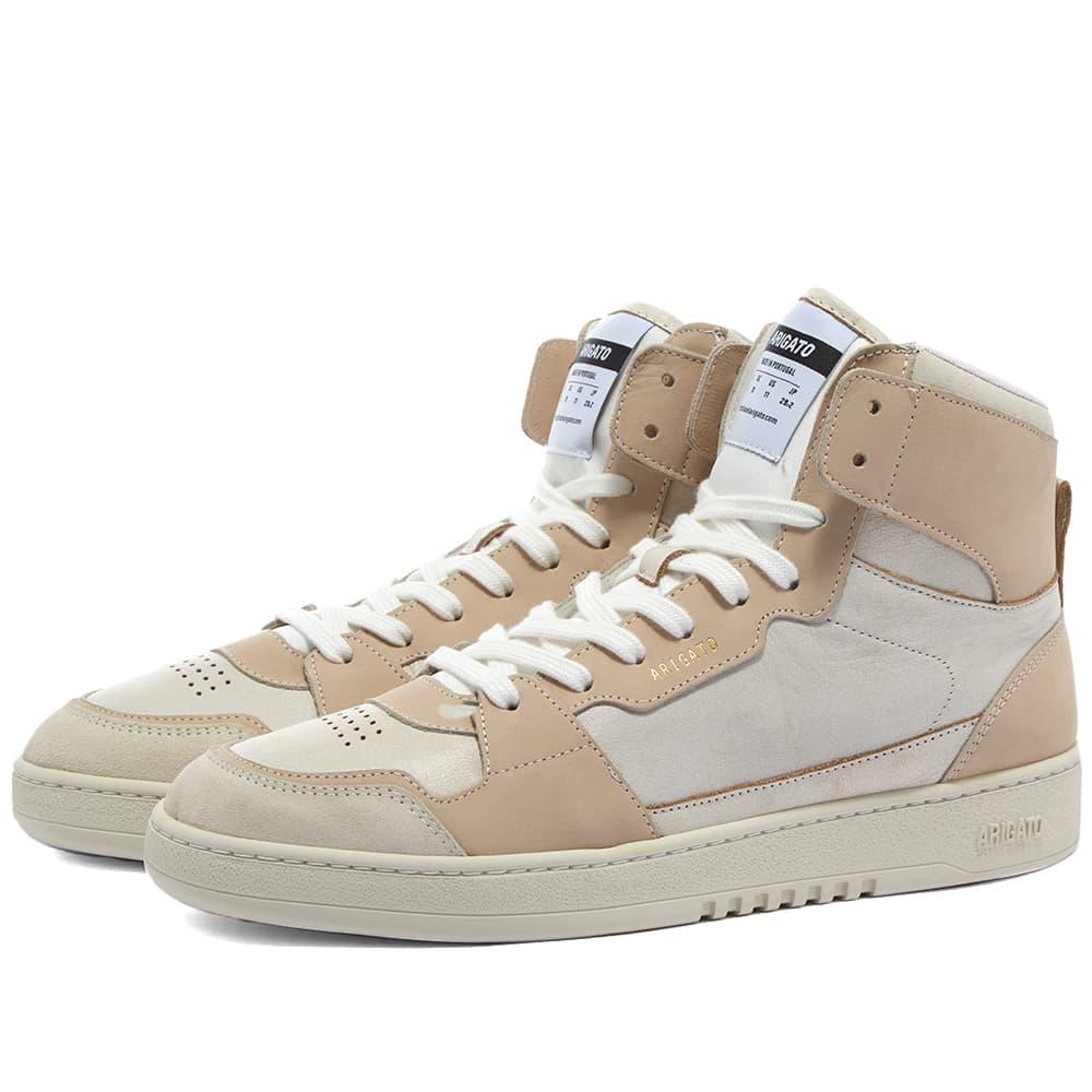 Axel Arigato Ace Hi Sneaker - White & Beige