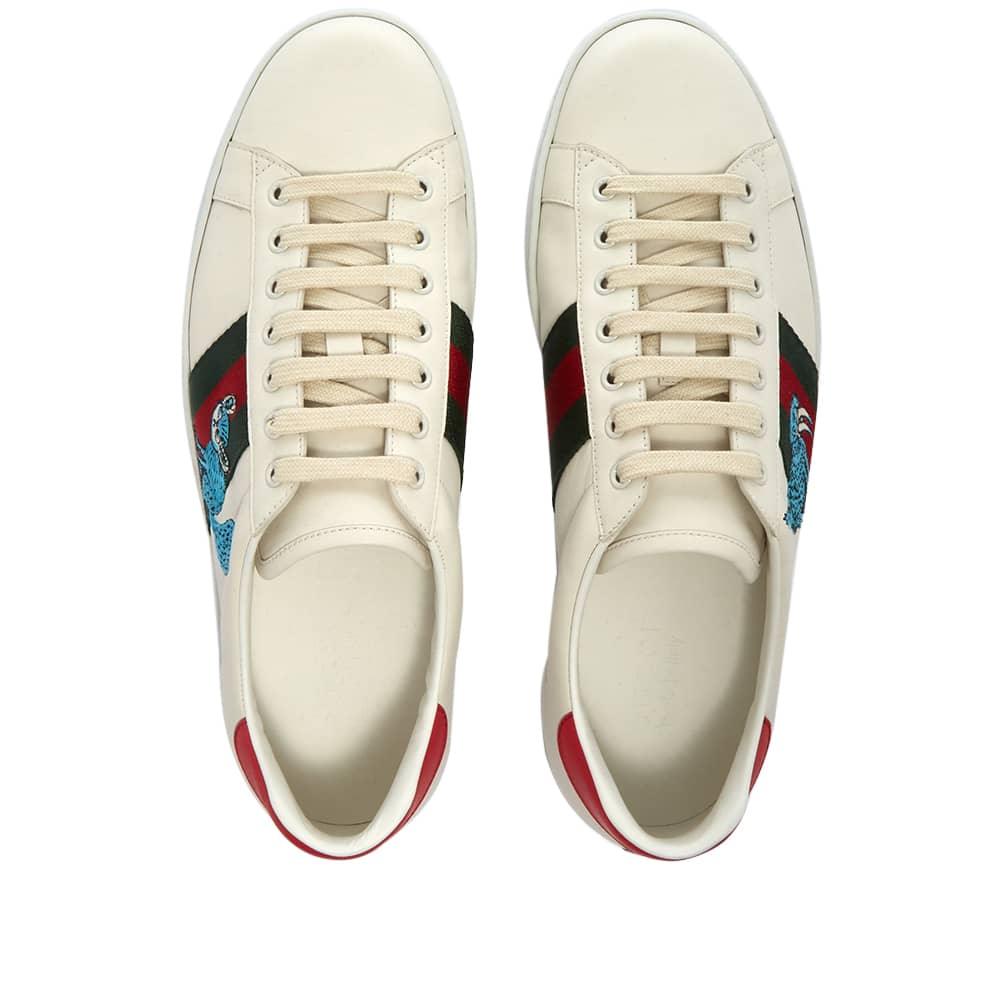 Gucci New Ace Character Sneaker - White