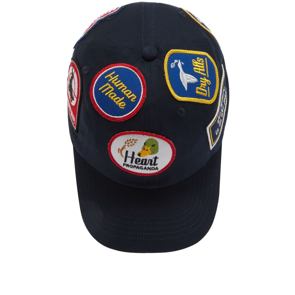 Human Made Patch Twill Cap - Navy