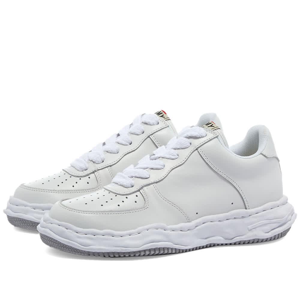 Maison MIHARA YASUHIRO Wayne Original Low Top Leather Sneaker - White