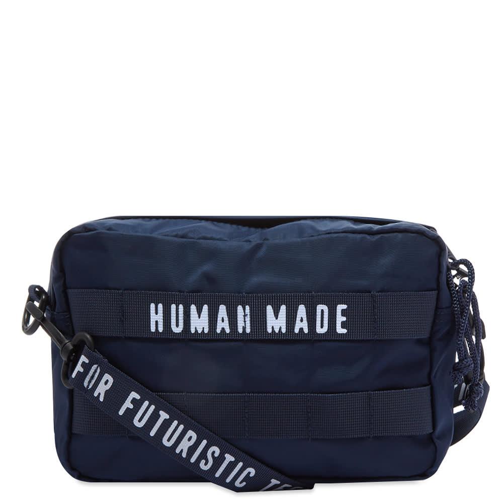 Human Made Medium Military Waist Bag - Navy