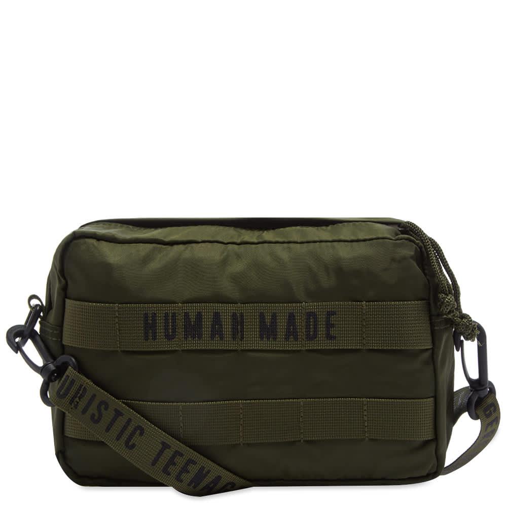 Human Made Medium Military Waist Bag - Olive Drab