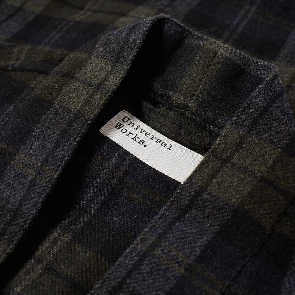 Universal Works Tie Front Jacket - Charcoal