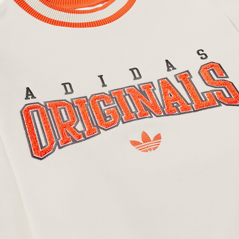 Adidas Collegiate Crew Sweat - Oatmeal