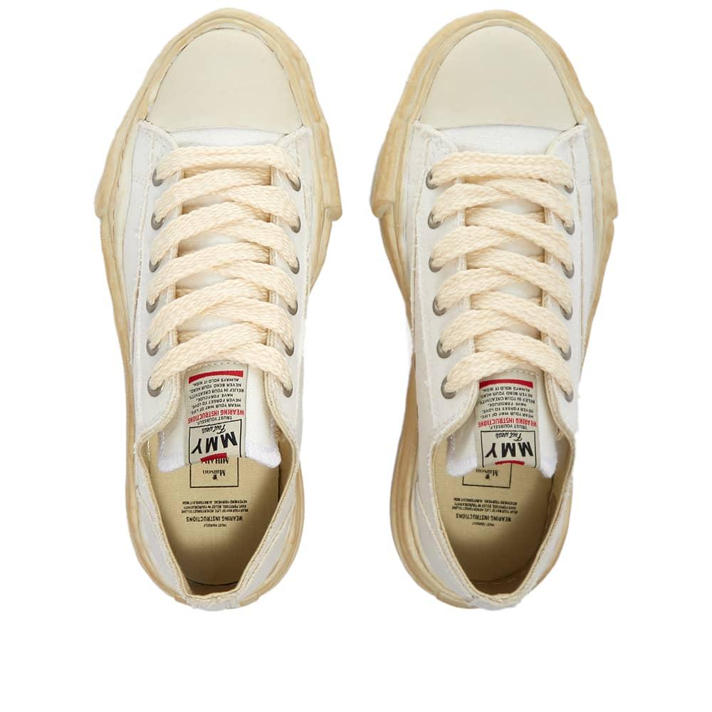 Maison MIHARA YASUHIRO Peterson Original Low Top Canvas Sneaker - White