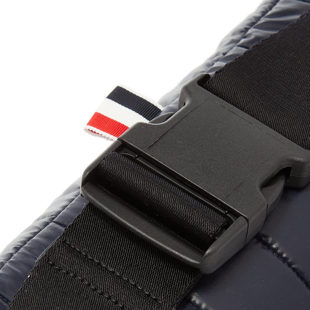 Thom Browne 4 Bar Stripe Waist Bag - Navy