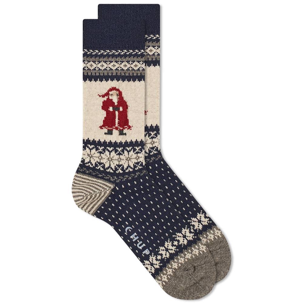 Chup Santa Sock - Blue