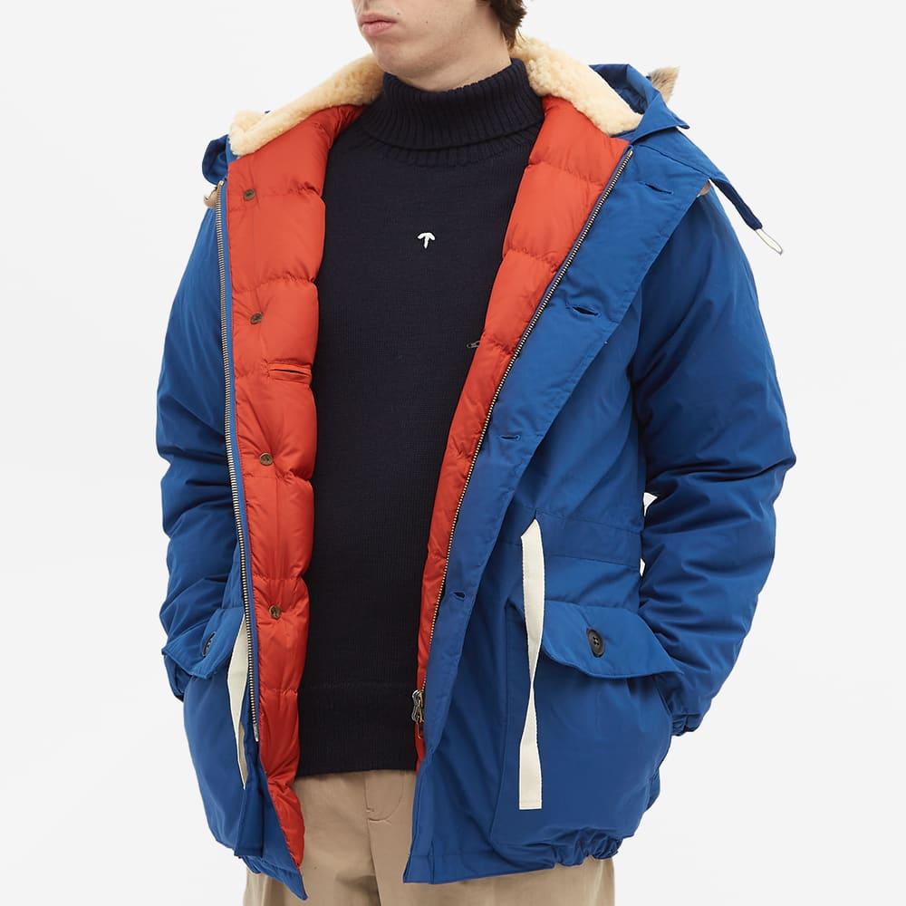 Nigel Cabourn Everest Parka - Indigo