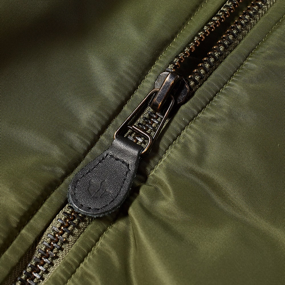 Maharishi Vintage Patch MA-1 Flight Jacket - Olive