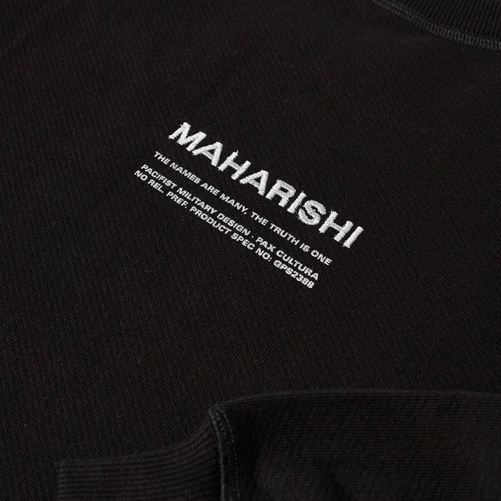 Maharishi Classic MILTYPE Crew Sweat - Black