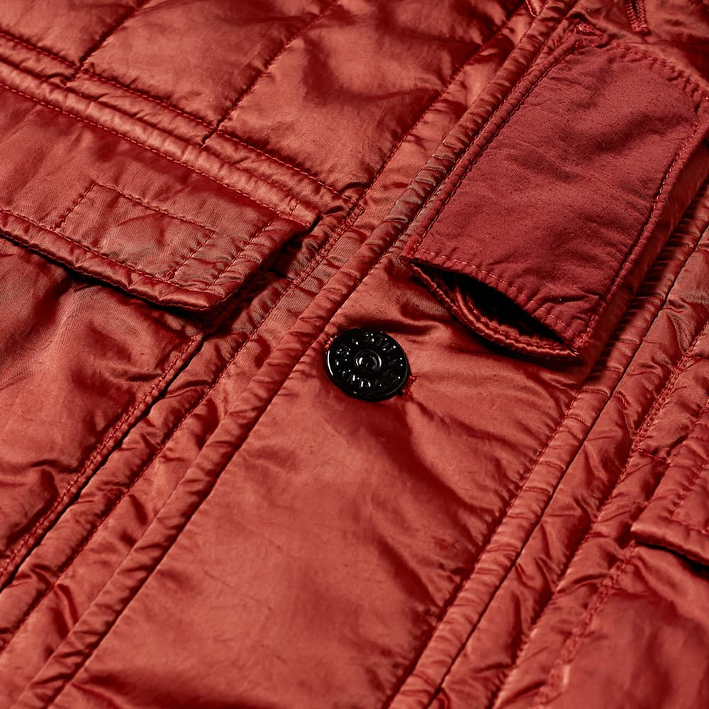 Stone Island Econyl Nylon Metal Hooded Jacket - Brick Red