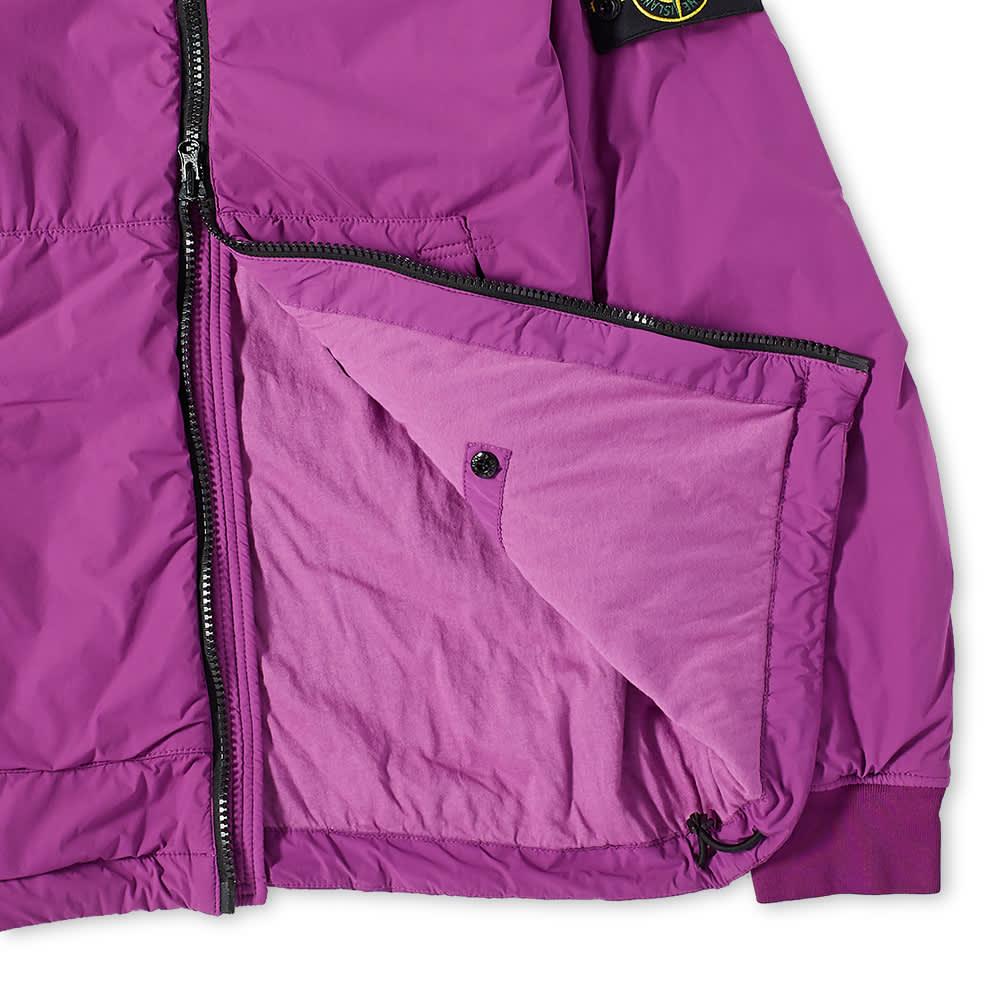 Stone Island Composite Polartec Hooded Jacket - Magenta
