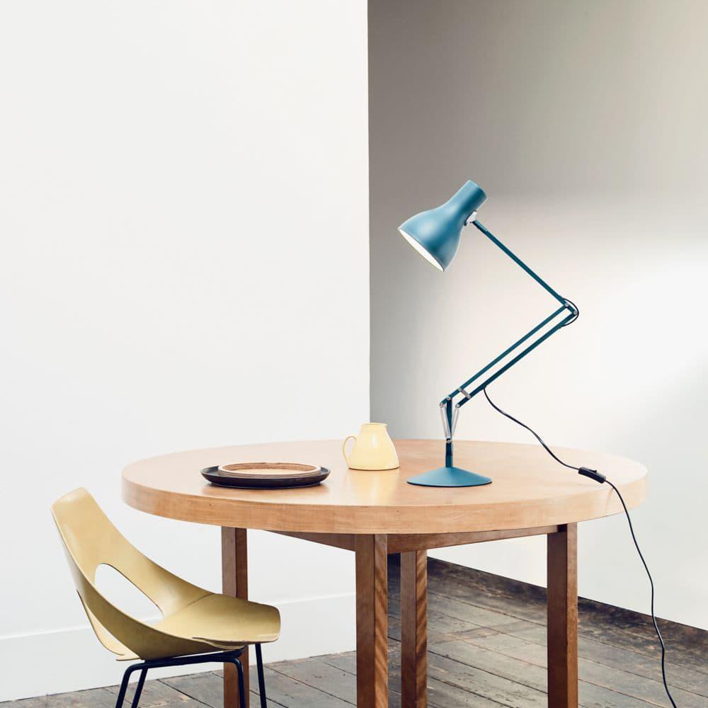Anglepoise Type 75 Desk Lamp 'Margaret Howell' - Blue