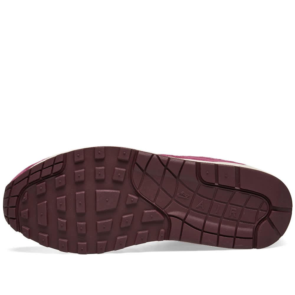 Nike Air Max 1 Premium - Bordeaux, Sand & Burgundy