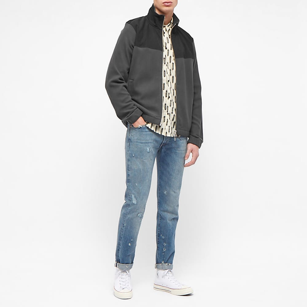 Albam Full Zip Fleece Jacket - Black