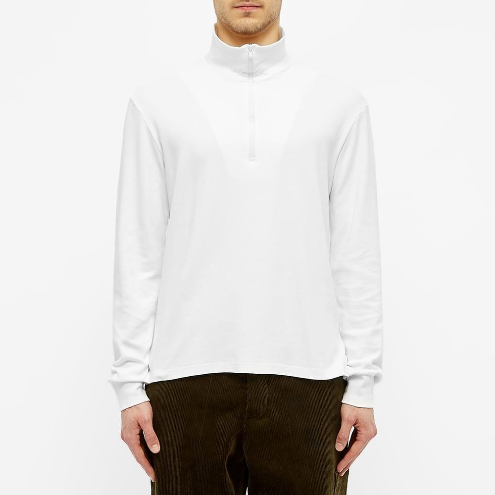 Barena Calenda Quarter Zip Sweat - White