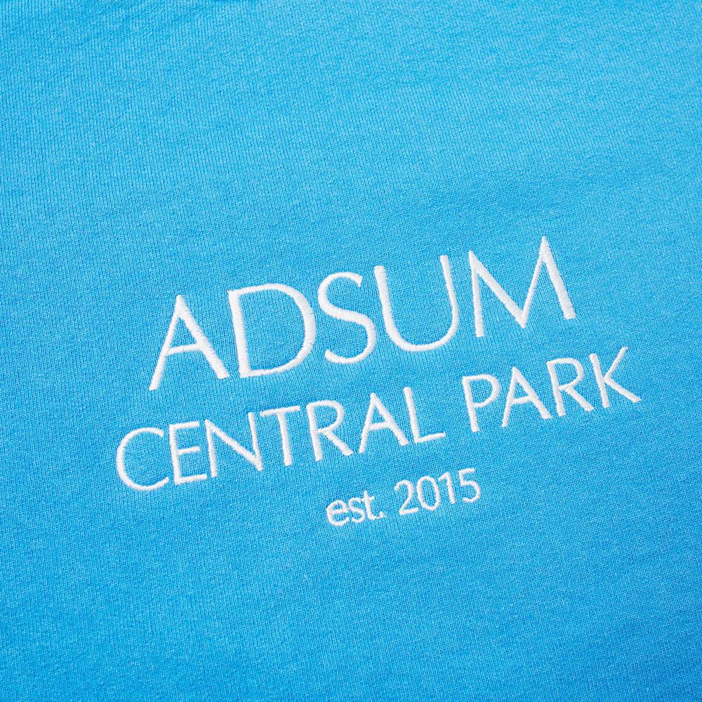 Adsum Central Park Crew Sweat - Royal Blue