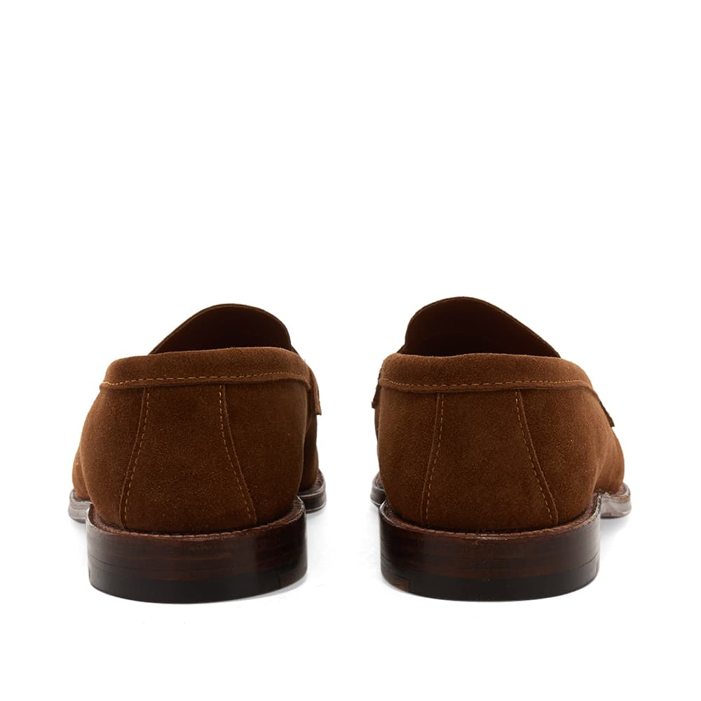 Alden Unlined Penny Loafer - Snuff Suede