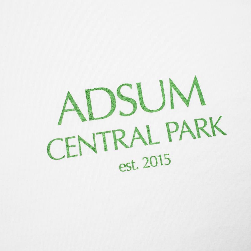 Adsum Central Park Tee - White