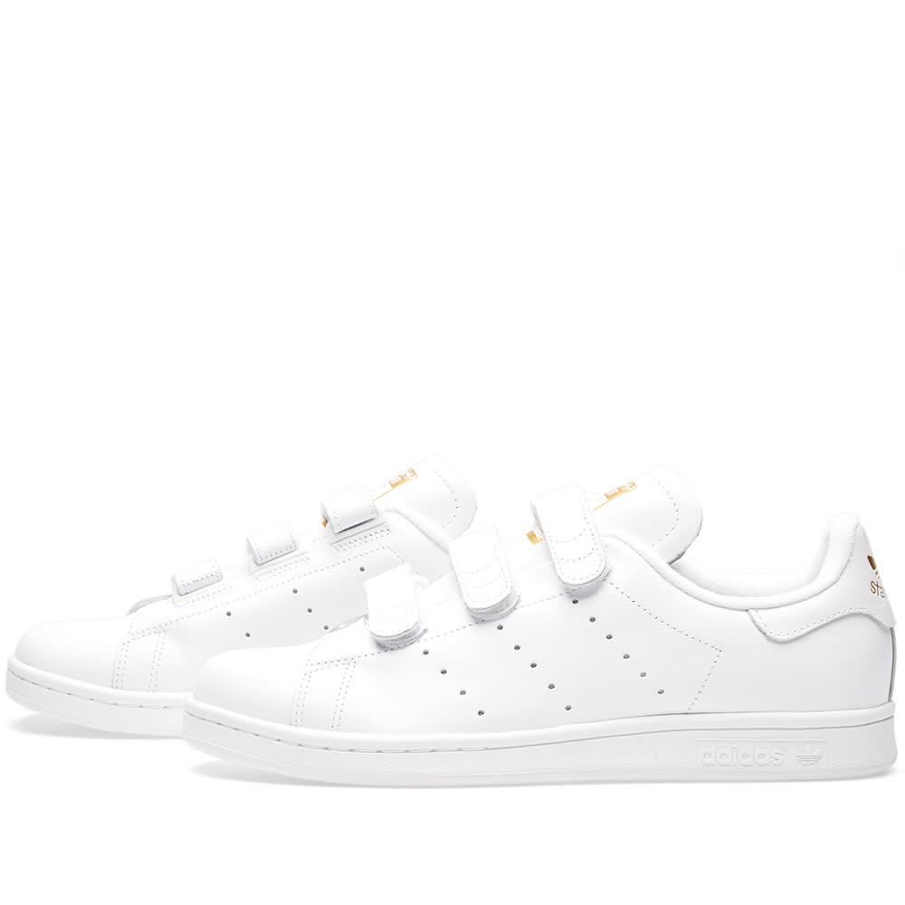 Adidas Stan Smith CF White \u0026 Gold