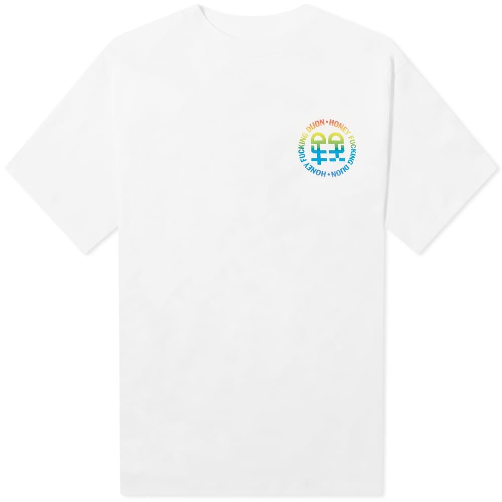 Honey Fucking Dijon Logo Tee - White