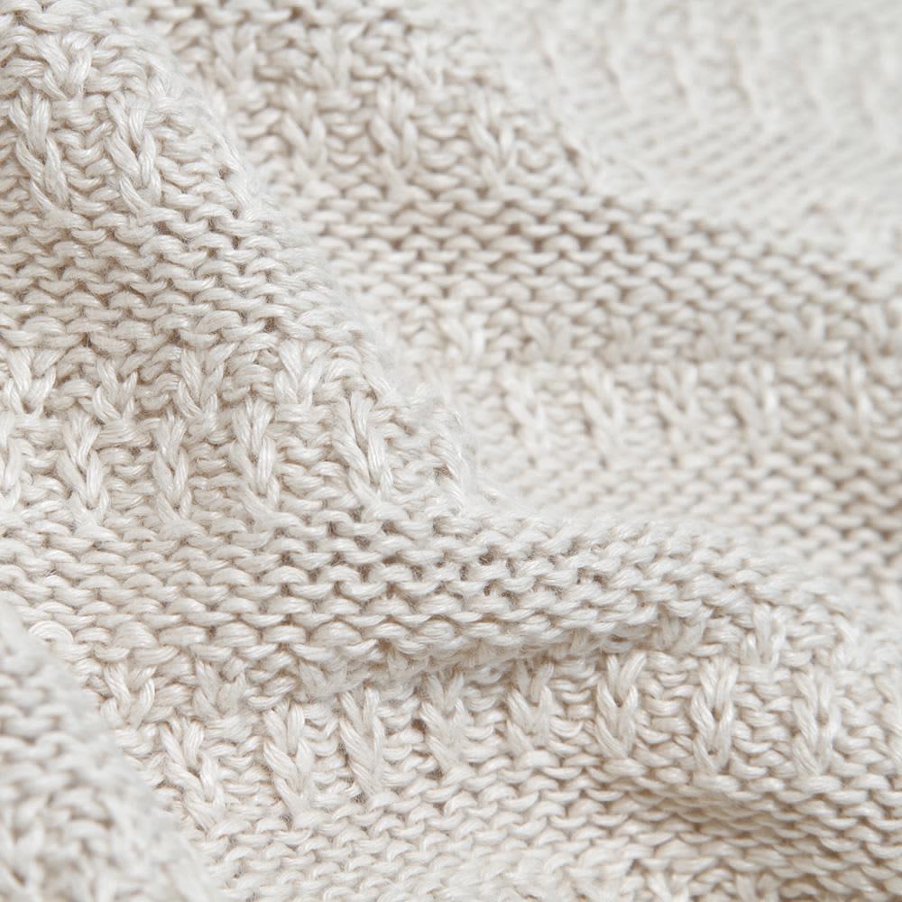 A.P.C. Loose Round Neck Sweater - Marine & Ecru