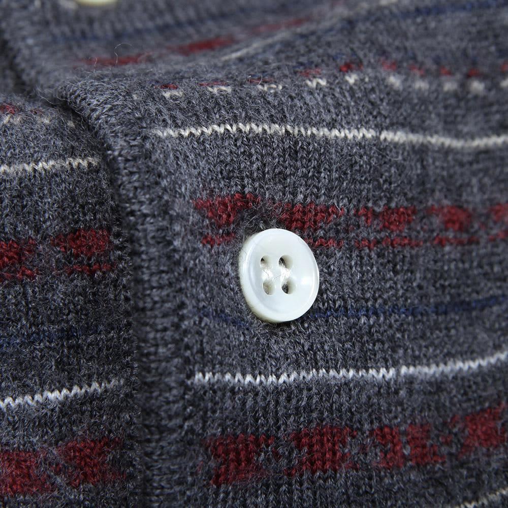 A.P.C. Long Sleeved Italian Polo - Grey