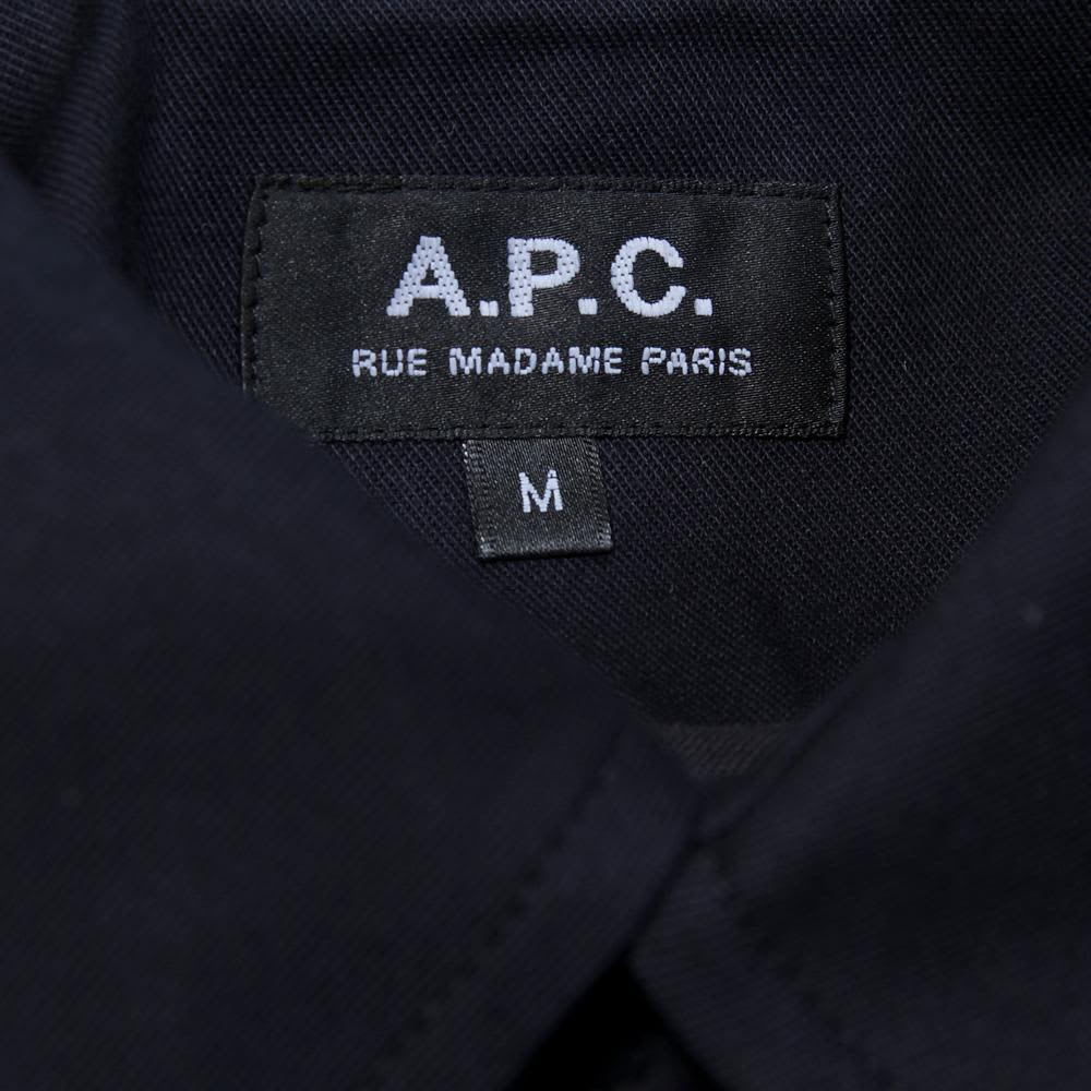 A.P.C. Raglan Back Mac - Dark Navy