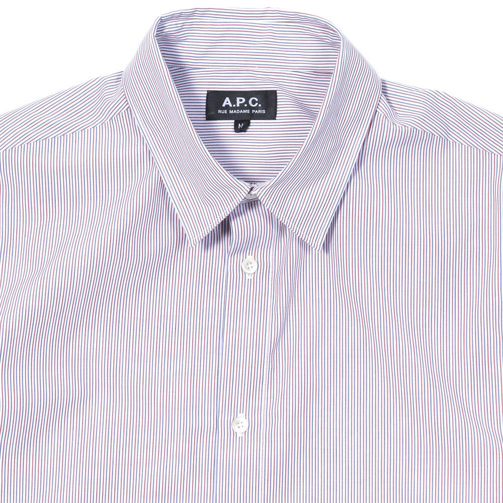 A.P.C. Vintage Striped Shirt - Red