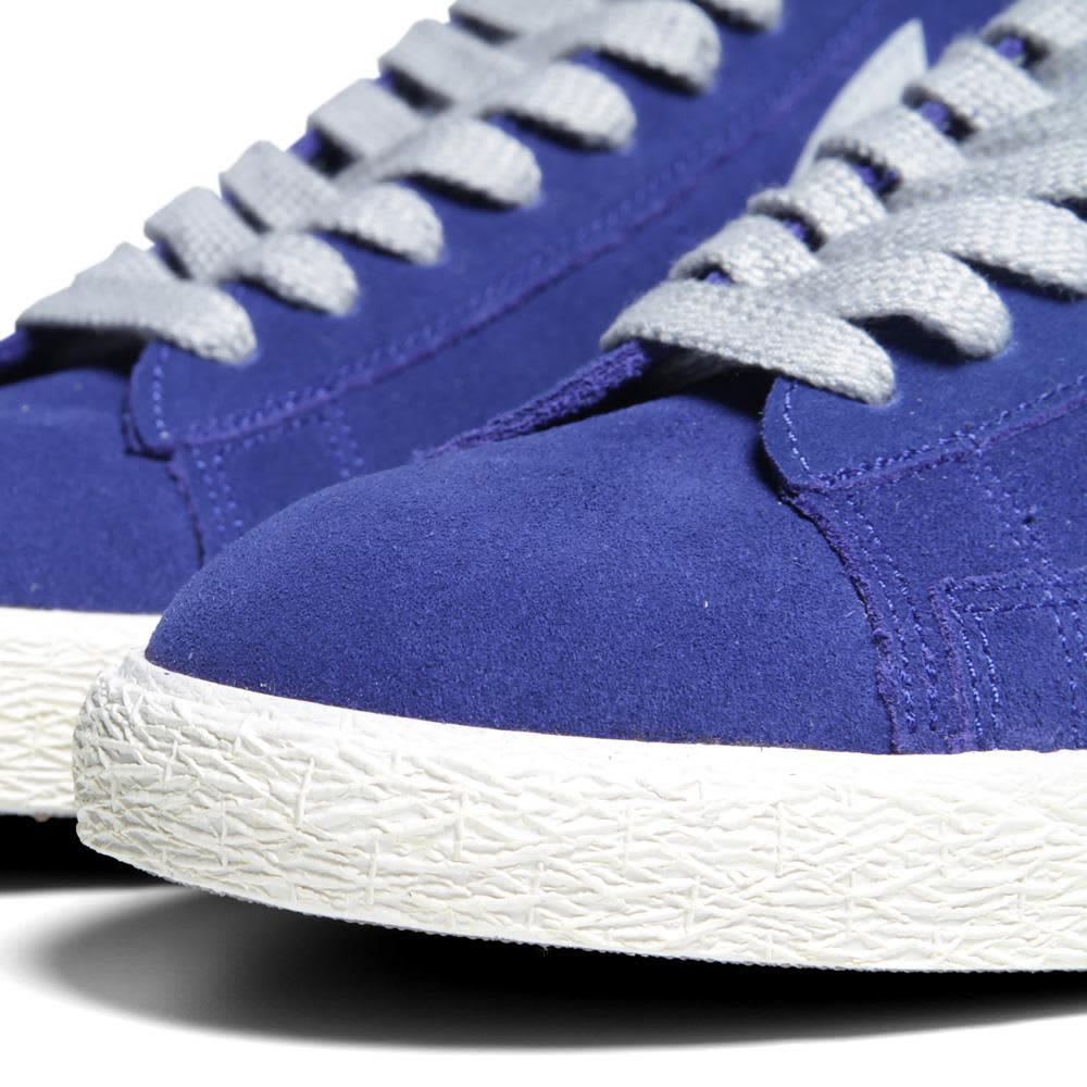 Nike Blazer Mid PRM VNTG Suede - Deep Royal Blue & Strata Grey