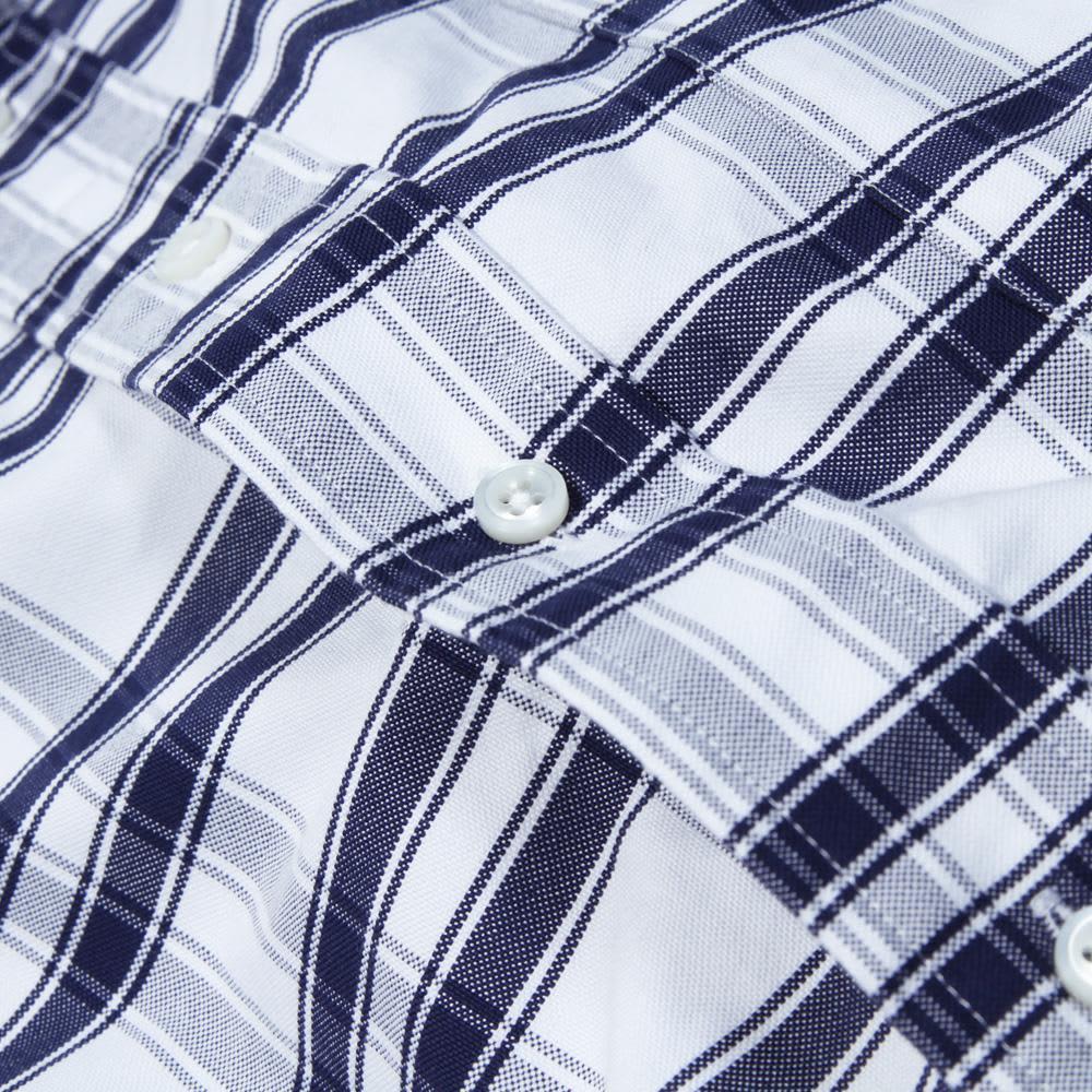 Thom Browne Classic Button Down Shirt - Blue & White Oxford Check