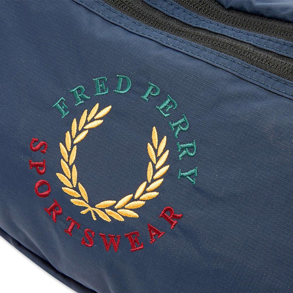 Fred Perry Laurel Logo Waist Bag - Navy