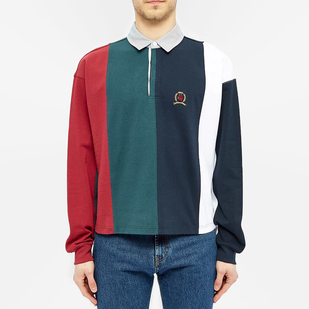 Hilfiger Collection Crest Rugby Top - Multi