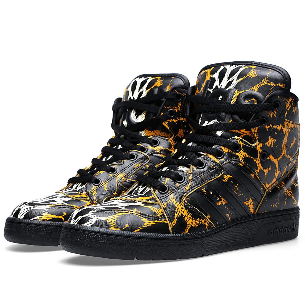 Adidas New Style Shoes Yellow Adidas Jeremy Scott Nib Obyo