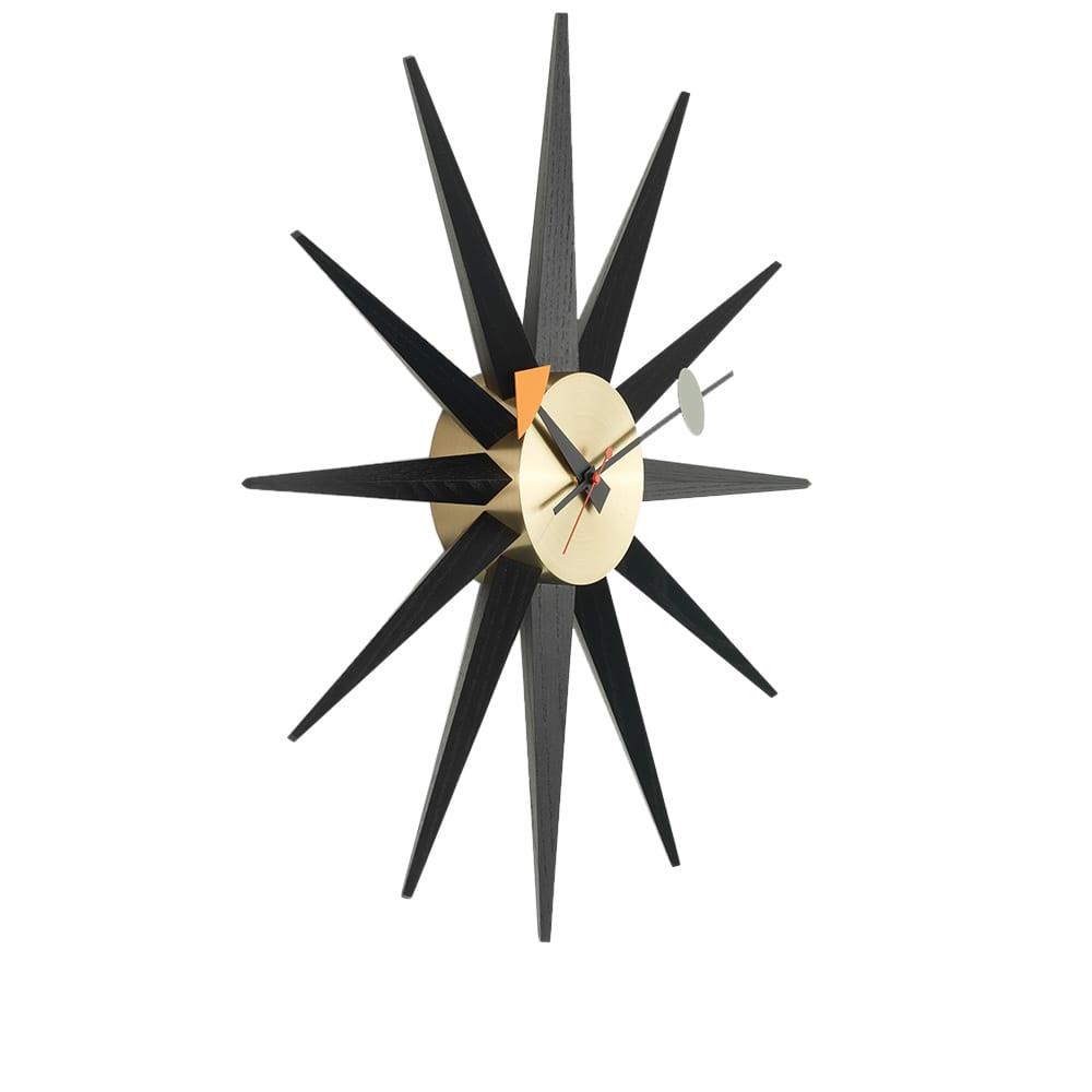 Vitra George Nelson Sunburst Wall Clock - Brass