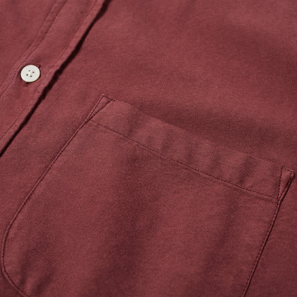 Portuguese Flannel Belavista Button Down Oxford Shirt - Bordeaux