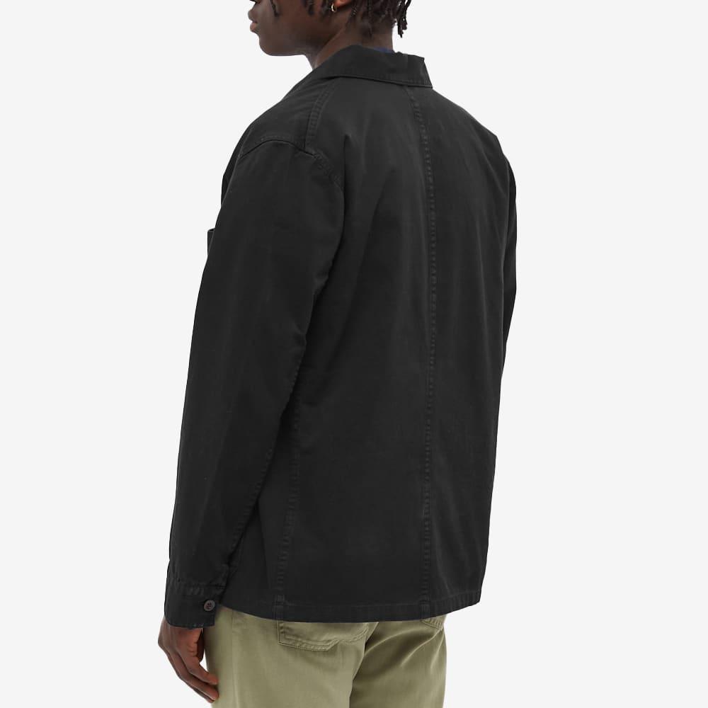 Portuguese Flannel Labura Chore Jacket - Black