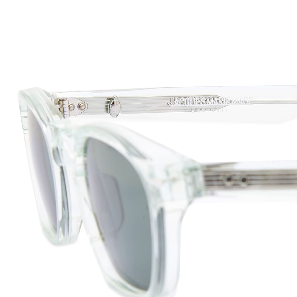 Jacques Marie Mage Zephirin Sunglasses - Glass & Green