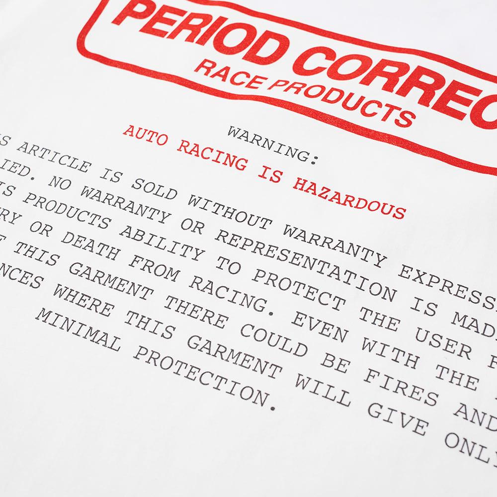Period Correct Hazard Tee - White