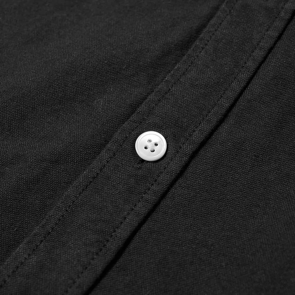 Portuguese Flannel Belavista Button Down Oxford Shirt - Black