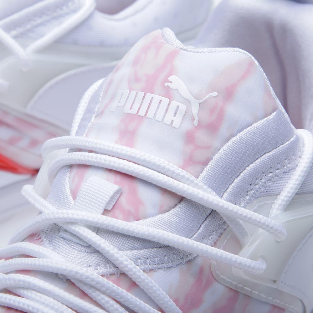 Puma x theLIST x Hypebeast Blaze of Glory LTWT 'Har Gao' - White, Hot Coral & Cream